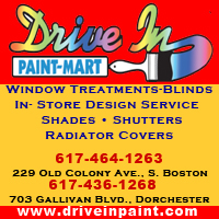 Drive in paint mart